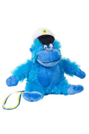 Studentgorilla, blå