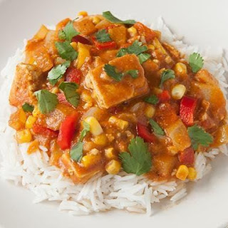 Slow-Cooker Tofu Curry.