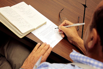 Photo: Zafar Handoo, USDA, takes notes during the case studies breakout session.