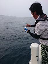 """Photo: そーです。 痛風一直線の""""オオイシさん""""です! しかもスロージギングで魚ヒットしているし!"""