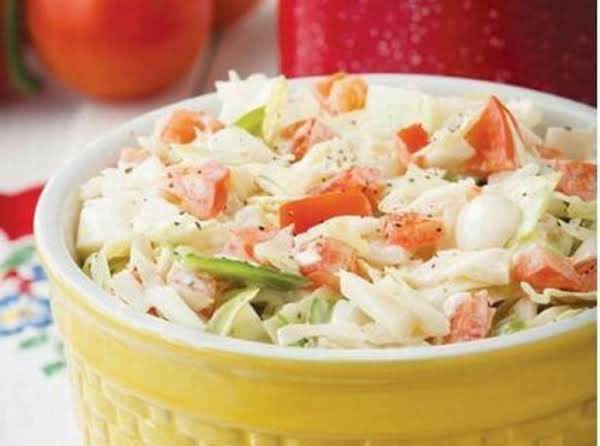 Cabbage-tomato Slaw Recipe