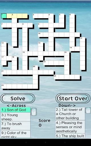Bible Crossword FREE Apk Download 13