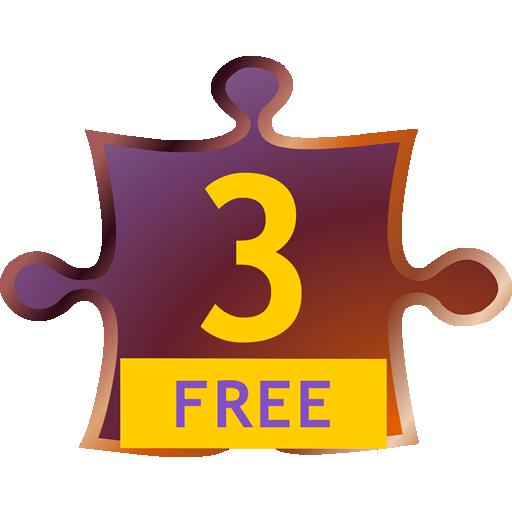 ThinkAnalogy™ Puzzles 3 (Free) 教育 App LOGO-硬是要APP