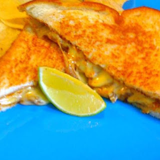 Grilled Cheese Tikka Masala- Quickie Lunch!