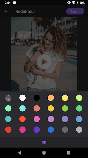 Video Maker von Fotos mit Music & Video Editor screenshot 9