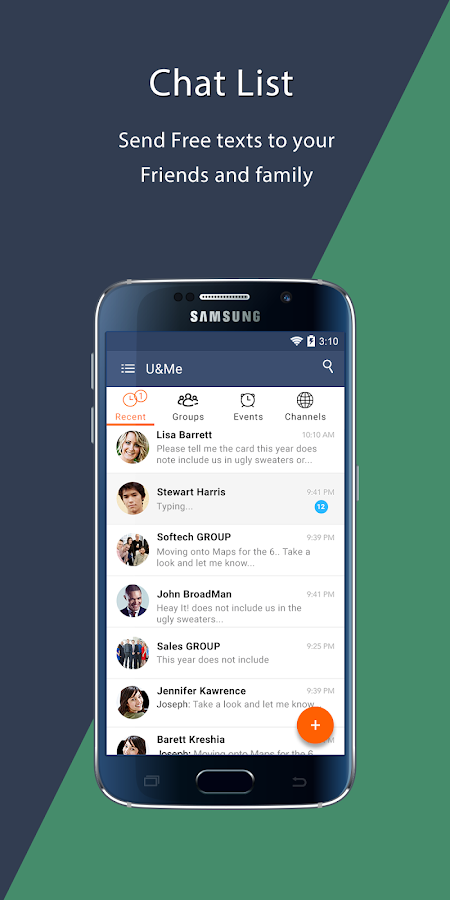 U&Me Messenger- screenshot