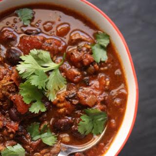 Make-Ahead Turkey Black Bean Chili