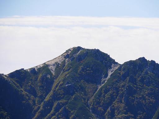 空木岳アップ