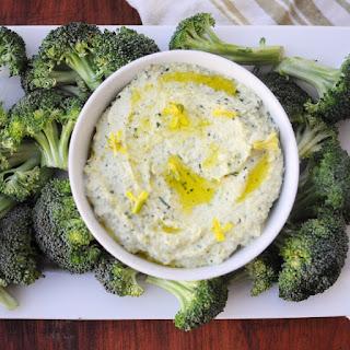 Broccoli Stem Hummus.