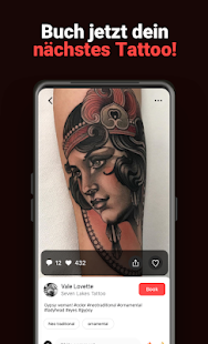 Tattoodo - Finde dein nächstes Tattoo Screenshot