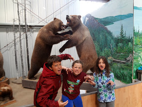 Photo: We stopped at the Caribou Crossing Wildlife Museum