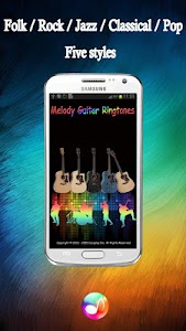 Melody Guitar Ringtones Pro screenshot 0