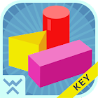 Learn forms and shapes - KEY icon