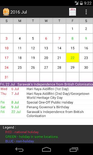 免費下載生產應用APP|Malaysia Calendar 2017 app開箱文|APP開箱王