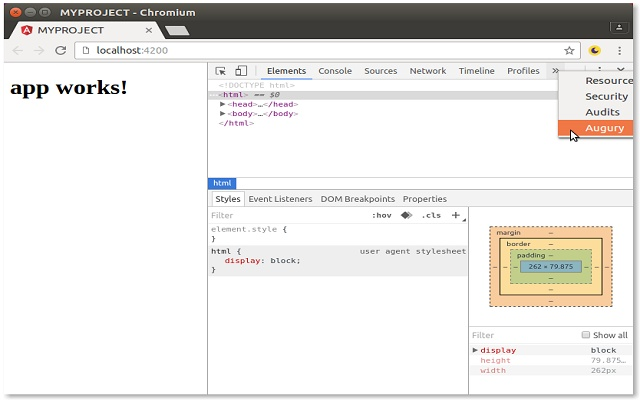 Angular Chrome Extension