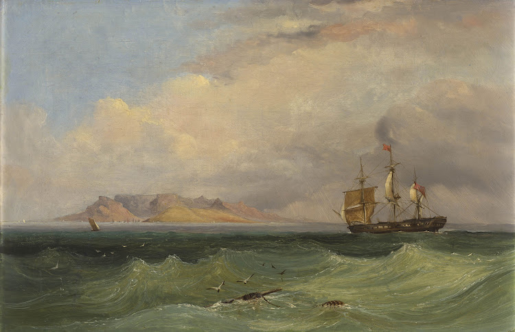 Thomas Bowler, signed on the reverse, oil on canvas.
