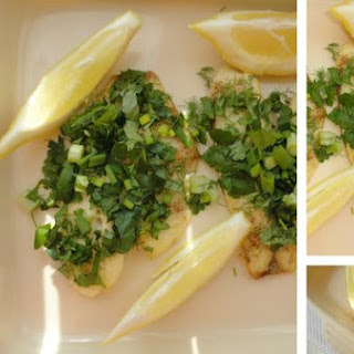 Tilapia With Fresh Herbs