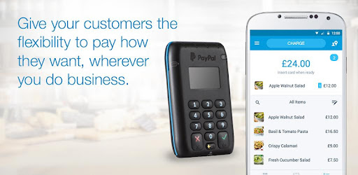 Paypal Mobile Card Reader >> Paypal Here Pos Credit Card Reader Apps On Google Play