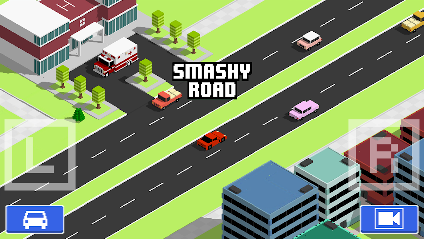android Smashy Road: Wanted Screenshot 2