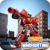 War Tobot Fighting