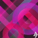 Pattern Pink Xperien Theme