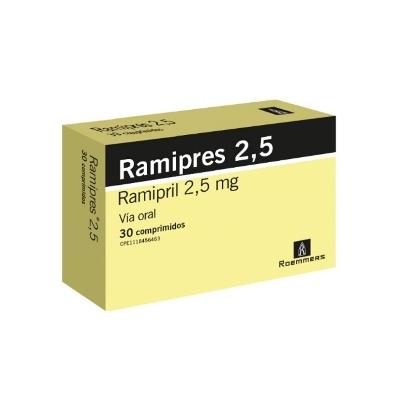 Ramipril Ramipres 2.5 mg x 30 Comprimidos