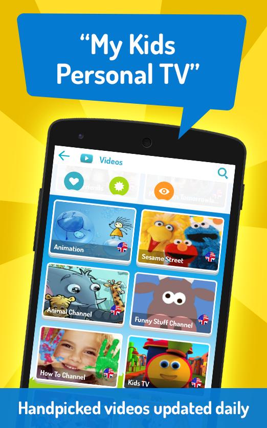 KIDOZ: Safe Play Mode for Kids - screenshot