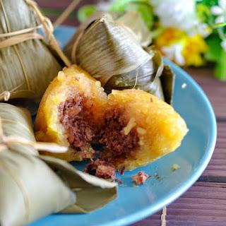 Red bean kee chang/ ki Chang/ kan sui chang Makes 14 dumplings