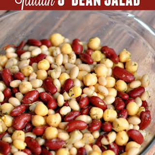 Quick & Easy Italian Three-Bean Salad