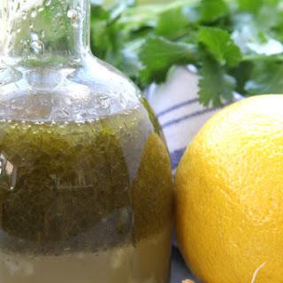 Simple Herbed Lemon Vinaigrette.