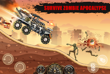 Hill Zombie Racing - Earn To Climb APK screenshot thumbnail 1