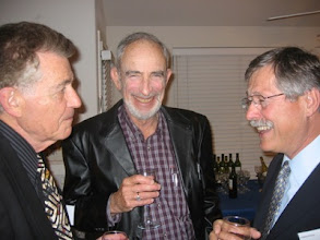Photo: Professor Francisco Ayala, Paul Ehrlich, and Michael Clegg