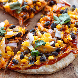 BBQ Chicken Flatbread Pizza