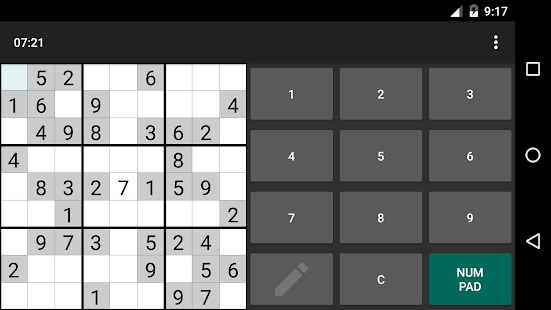 Open Sudoku Screenshot