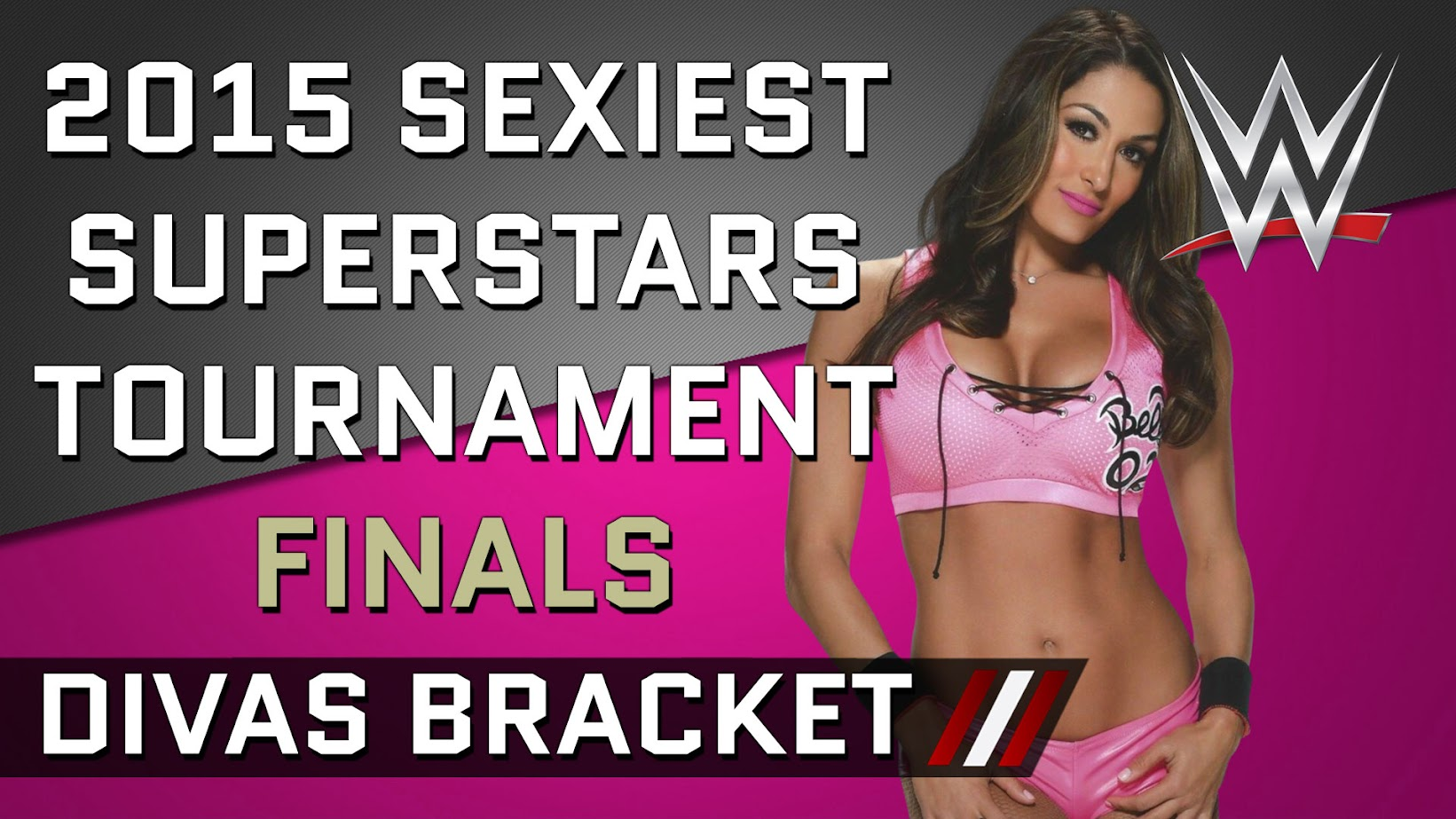 vote on the hottest wrestlers in WWE 2015 tournament