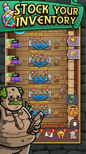 Dungeon Shop Tycoon: Craft, Idle, Profit! u2694ufe0fud83dudcb0ud83euddd9 1.622 screenshots 4