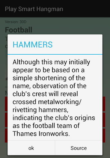 Play Smart Hangman 3.01.29 screenshots 1