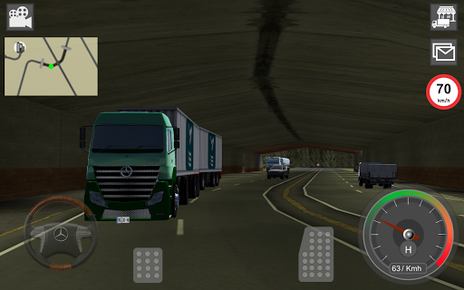 Mercedes Benz Truck Simulator  screenshots 22
