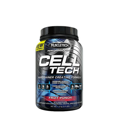 Muscletech Cell Tech 1,36kg - Fruit Punch