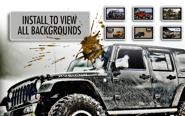 *NEW* Jeep HD Wallpapers New Tab Theme