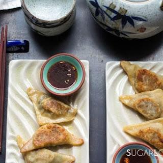 Asian Inspired Mushroom Dumplings Recipe