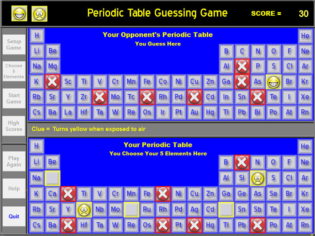 Chemistry periodic table game android apps on google play chemistry periodic table game screenshot gamestrikefo Images