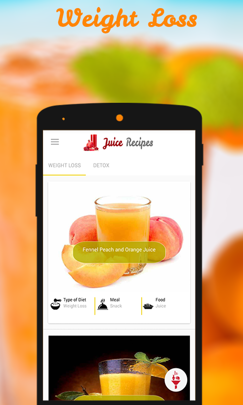 Juice Recipes- screenshot