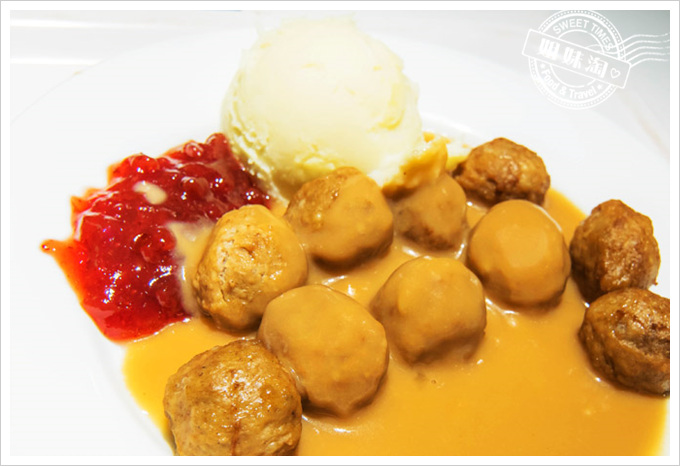 IKEA瑞典餐廳菜單瑞典烤肉丸