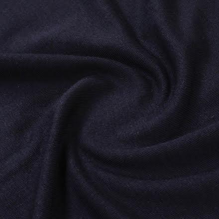 Modaljersey - svart