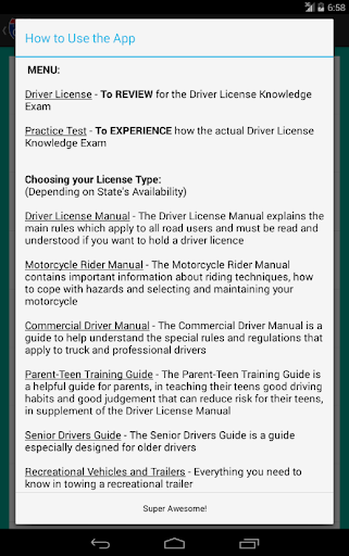 nevada drivers permit test book