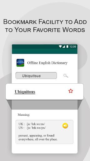 Offline English Dictionary  screenshots 7