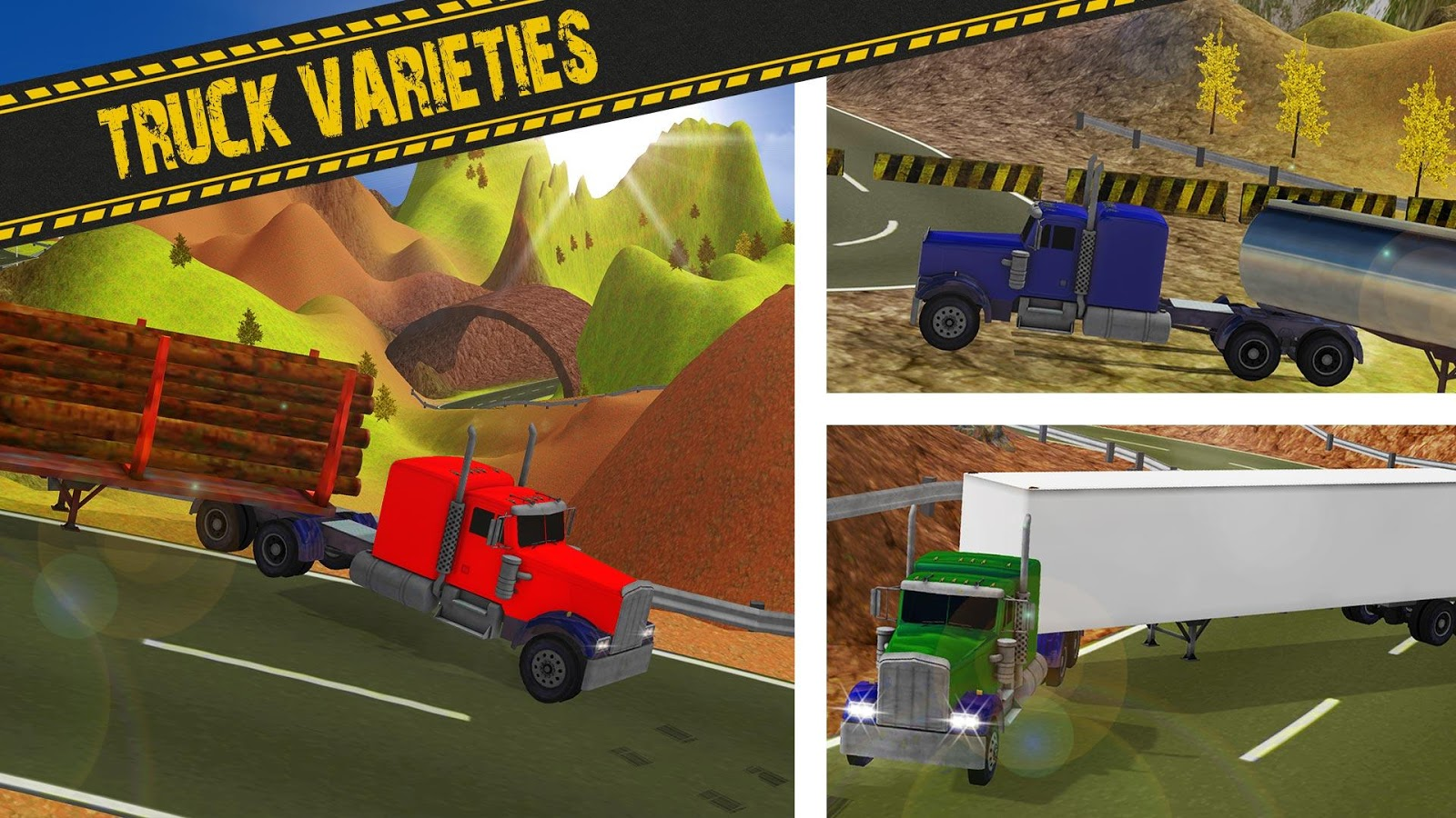 Offroad impossible truck parking truck game screenshot