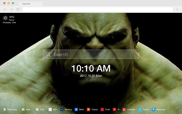 Hulk HD Wallpapers New Tabs Movies Themes