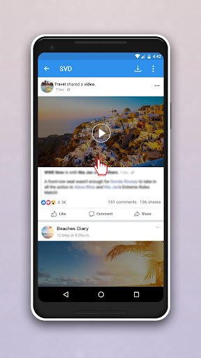 Video Downloader for Facebook 2.1 screenshots 2